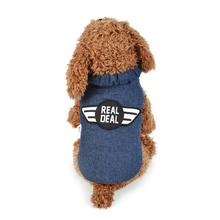 Handsome Fashional Durable Sweet Pet Dog Cat Winter Coat Apparel Puppy Warm Aircraft Double-sided  Dog Clothes Winter Costume
