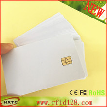 50PCS/lot ISO7816 Standard contact smart IC chip Card SLE4442 for ACR38U IPC/ACR38U R4 Read writer with free shipping Key F(China)