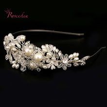 Fashion Tiaras and Crowns Wedding Tiara Bridal Crown wedding tiaras for brides Princess Queen Pageant Prom Hair Accessory RE687