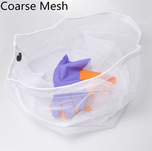 2017 New Fashion Fine Mesh Household Machine Wash Light Coarse Mesh Storage Bag Zipper Clothes Multifunctional Storage Bags