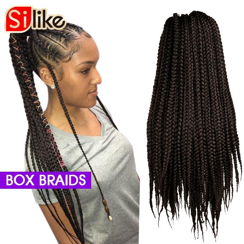 Aigemei Kanekalon Jumbo Synthetic Braiding Hair Crochet Hair Extensions Jumbo Braids Hairstyles 22 Inch 85g Five Colors Jumbo Braids