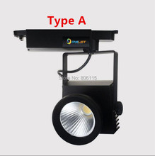 20W 30W COB Led Track Light Spot for Exhibition Hall Show Room Lighting Indoor Rail Lamps Warm White Cool White AC110V 220V