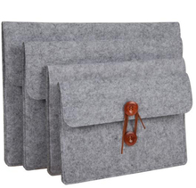 "10""11""12""13""14""15"" Sleeve Case Bag Wool Felt Inner Notebook Laptop Sleeve Bag Case Carrying Handle Bag For iPad Macbook Pro/Air"