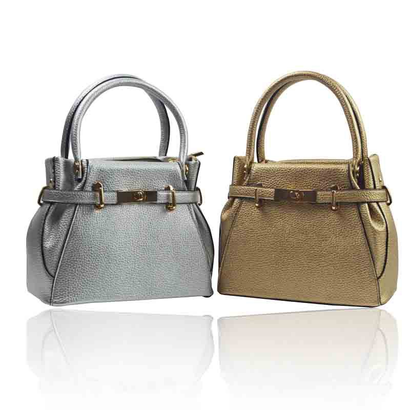 2015 Dsigner Litchi gold and silver bucket Women bag patchwork women shoulder bag brand messenger bag women handbag bolsas<br><br>Aliexpress