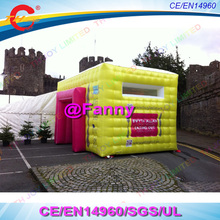 Inflatable Cube Tent,inflatable event exhibition display marquee,Cheap outdoor cube inflatable tent for advertising(China)