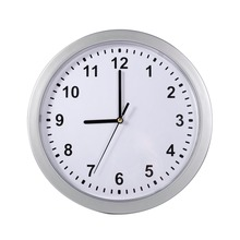 new arrival Wall Clock Silver Living room Decor Cash Hide Valuables Jewelry(China)
