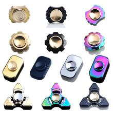 Buy New EDC Multi-style Finger Gyro Met Material Tri-Spinner Autism ADHD Rotation Time Long Anti Stress Fidget Toys Hand Spinner for $10.00 in AliExpress store