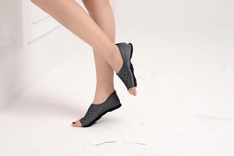 Fitness Professionelle Frauen Nicht-slip Indoor Dance Pilates Yoga Gummiband Schuhe Toning-schuh