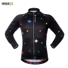 WOSAWE Cycling Jersey Reflective Jacket Clothing Women Men Bike Clothes Bicycle Motocross Mtb 40 - Bicycling Goods Store store