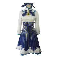 2017 New Style NEKOPARA Cosplay Costume Vanilla Server Dress(China)