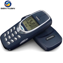 Nokia 3310 Cell Phone Original 3310 Mobile Phone GSM 900/1800(China)