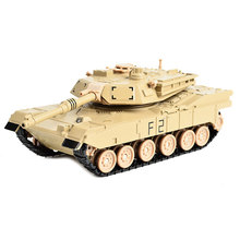 Toy Vehicle Military Tank Model Diecast with light and sound, Pullback 15CM(China)