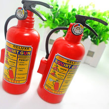 Plastic Water Squirt Gun Fire Control Extinguisher Toy Gift For Children