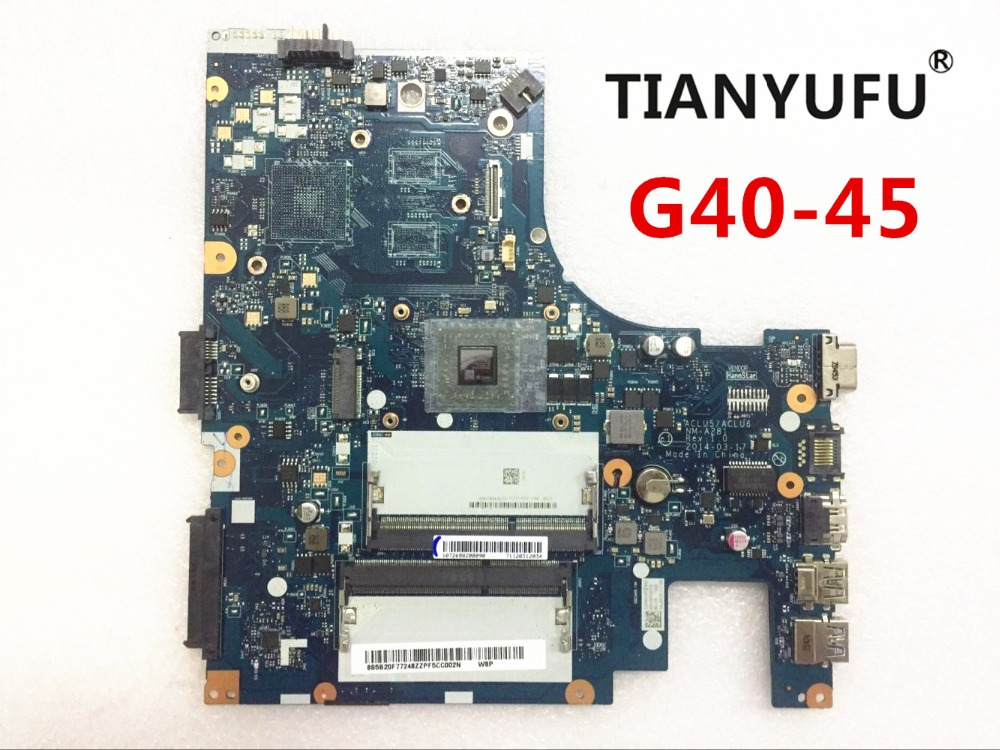 Lenovo G40-45 Aclu5 Aclu6 Tested DDR3 NM-A281 Amd Laptop for with CPU Amd-Cpu Amd-Cpu title=