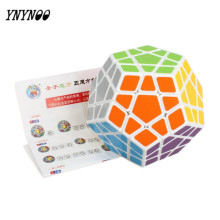 YNYNOO Megaminx PVC Sticker Cube Magic Dodecahedron Blocks Puzzle Magical Cubes Learning&educational Cubo Magic Toys For Kids