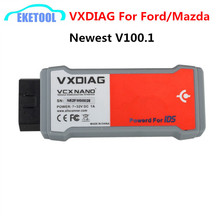 High Quality Allscanner VXDIAG VCX NANO For Ford/Mazda Powered For IDS Newest V100.1 Update by CD VXDIAG For Ford Diagnosis Tool