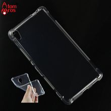 Buy Soft TPU Silicone Rubber Transparent Shockproof Case Sony Xperia XA Ultra Cover Phone Cases Protective Skin Shell Fundas for $2.50 in AliExpress store