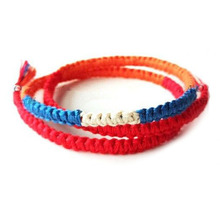 New Fashion Anime Your Name Bracelets Japan Movie Model Braided Red Kabbalah Ropes Bracelets Pulseras Jewelry For Lovers