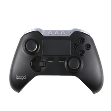 PG-9069 Wireless Bluetooth Gamepad Gaming Controller Joystick With Touch pad for iOS Android Mobile Phone TV Box Windows PC(China)