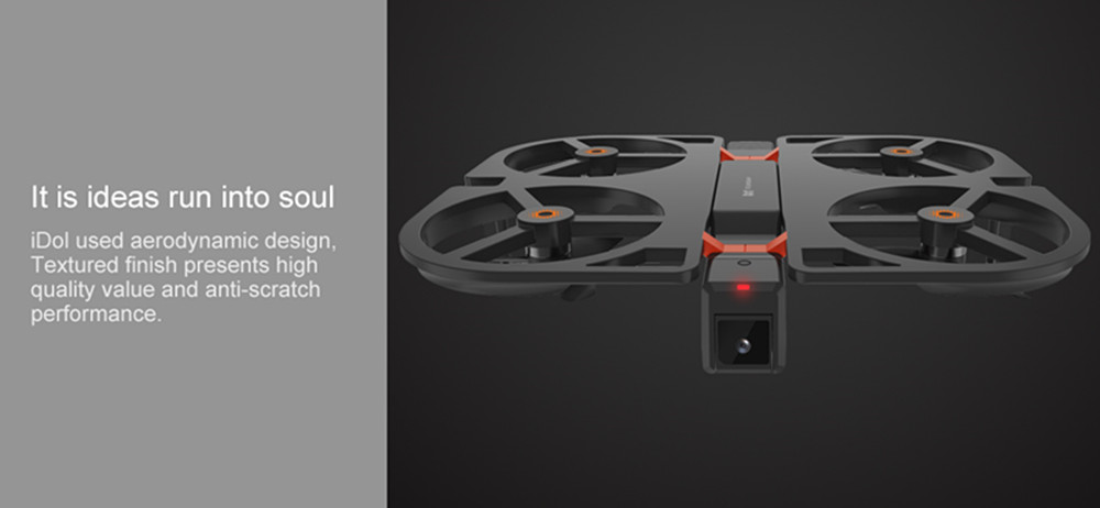 iDol 1080P WIFI FPV Camera 2.4G Foldable RC Drone GPS Quadcopter GPS Follow Me Set Height Hover APP Control Gesture Recognition 20