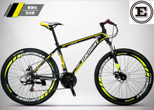 EUROBIKE 21 and 27 speed bike 26*17 inch MTB disc brake alloy frame mountain bike 26 inch bicycle no folding bike 160-185CM