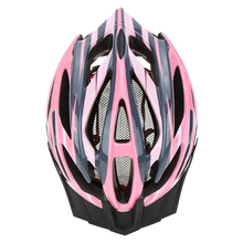 Mtb/Road Bike Helmets Cycling Mountain Racing with 21 Vents Adjustable Ultralight Integrally-molded, Color Pink(China)