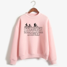 Buy LUCKYFRIDAYF American Television Stranger Things Sweatshirt Stranger Things Hoodie Sweatshirt Women Fashion Casual Clothes for $11.75 in AliExpress store