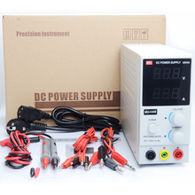 US 110V 0 ~ 30V 0 ~ 5A Mini DC regulated power supply ,Adjustable power supplier WITH banana cable test probe(China)