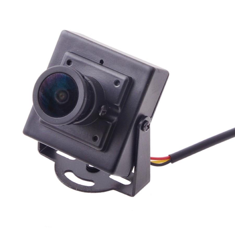 Mini HD 700TVL 1/3 CMOS 2.1mm Wide Angle Lens CCTV Security FPV Color Camera NTSC System<br><br>Aliexpress
