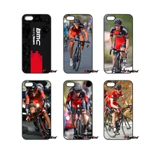 For iPhone X 4S 5 5C SE 6 6S 7 8 Plus Samsung Galaxy Grand Core Prime Alpha BMC Racing Cycling Bike Team Logo Phone Case Cover(China)