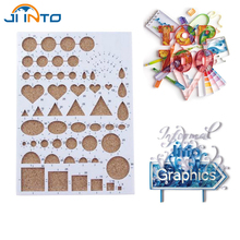 Paper Quilling Template Mould Board Papercraft DIY Crimper Art Tool Scrapbooks(China)