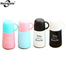 Navigate 2017 Vacuum Flask Thermocup Stainless Steel Thermos Child Thermo Mug Insulated Thermos Cup Garrafa Termica My Bottle(China)