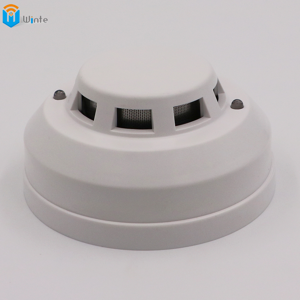 Electronic Smoke Detector Smoke Detector Electronic 12V DC wired optoelectirc sensor smoke detector use to check fire for safety<br>