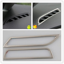For Volkswagen GOLF 7 MK7 2013 2014 interior air-conditioning outlet modified special stainless steel decoration sequins