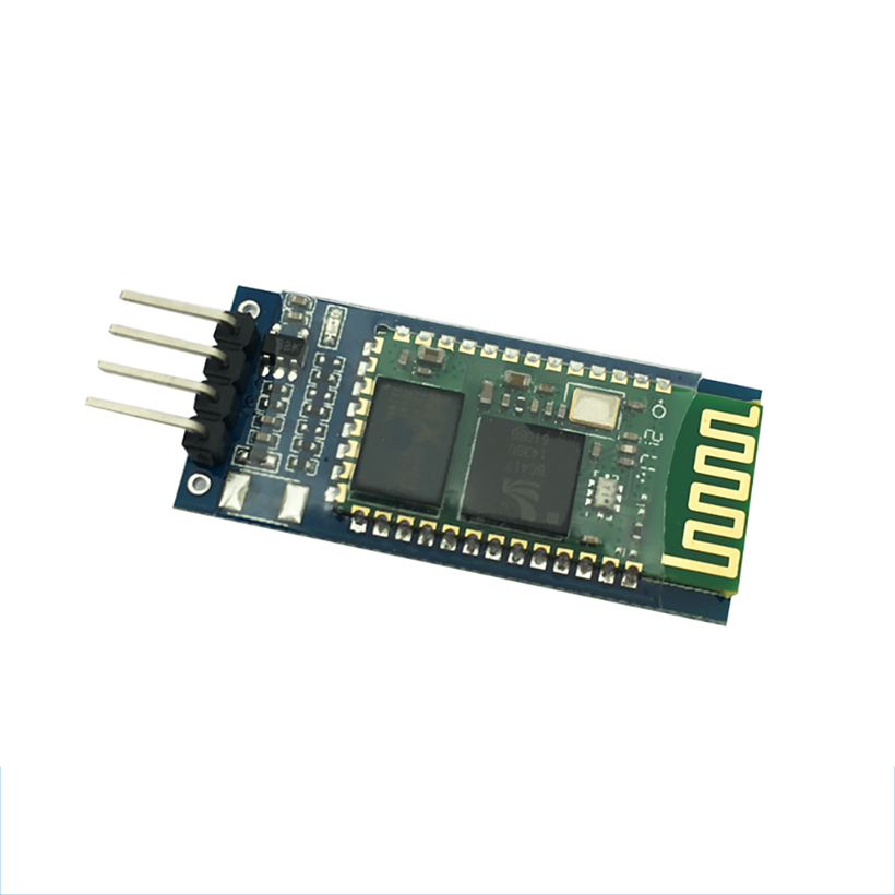 Wireless Serial 6 Pin Bluetooth RF Transceiver Module HC-06 RS232 With Backplane