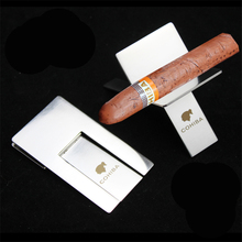 Smoker Foldable Cigar Stander Stainless Steel Cigar Holder High Quality Cigar Ashtray Holder Cigar Accessories CS01