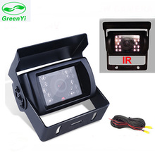GreenYi IR Nightvision Waterproof Truck Bus Car Rear View Camera Truck & Bus Parking Assistance Video System