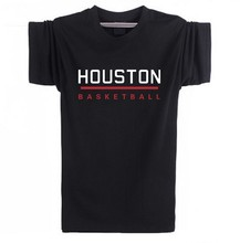 2015 Houston new york brooklyn Men's basketball  Short Sleeve T Shirts  training clothes james harden Plus Size