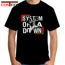 2017 New fashion brand System Of A Down SOAD T Shirt Man EAGLES OVERCOME ROCK METAL MUSIC Men Women real madrids Cotton Tee Tops(China)