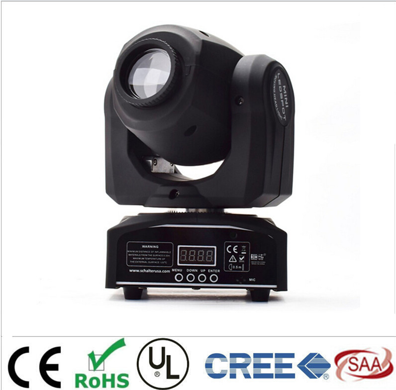 Moving DMX 8/11 Channels Led 30W 8colors Moving Head 7differnt spots Light DJ Party Club Free Shpping<br><br>Aliexpress