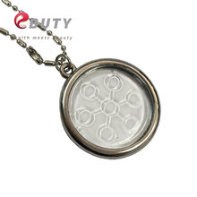EBUTY Bio Pendant Chi Disc Scalar Energy Pedant Transparent Ions Pendants Charms Health Care Unisex Fashion