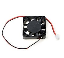 1 Pcs New Black Plastic 40mm x 40mm x 10mm 4010 9 Blade Brushless DC 12V Cooling Fan for 3D printer parts