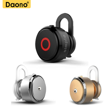 DAONO 007 Bluetooth Wireless V1 Earphone with Microphone Steroe Sport Headset Universal for xiaomi Iphone Samsung Phones(China)