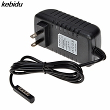 kebidu 2017 Hot selling For Microsoft Surface RT Tablet Fast Charging Portable Charger 12V 2A Tablet Wall Adapter Travel Charger(China)