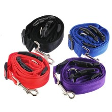 1pc Adjustable Dog Leash Pet Running Training Traction Collar Nylon Slip Dog Leash Rope Chain Harness Walking Rope