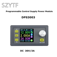 DP30V3A Upgraded version Programmable Power Supply Module Buck Voltage current Converter LCD Display Voltmeter DPS3003 50% off