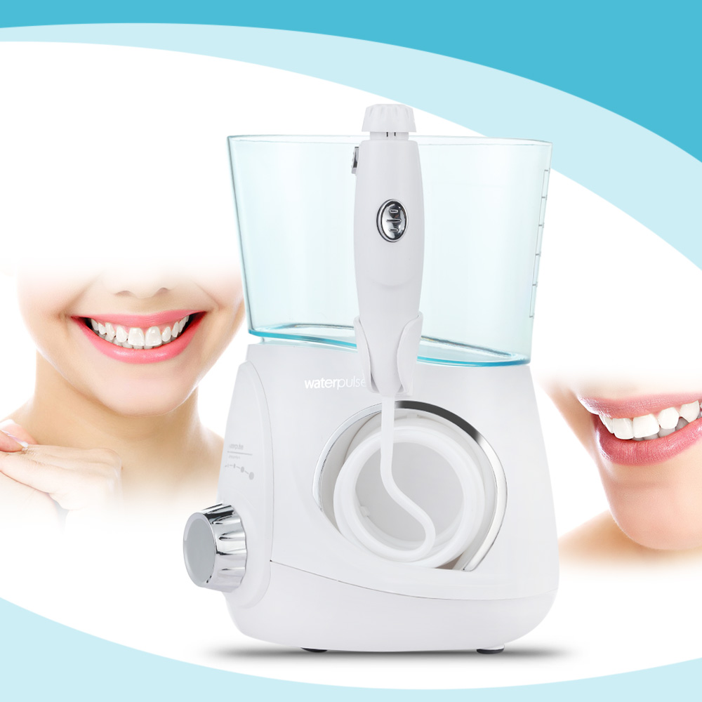 Waterpulse 700ML Oral Irrigator Electric Oral Hygiene Care Teeth Cleaner 24W Water Jet Irrigator for Adults<br>