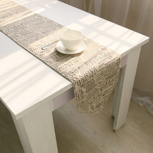 European style letter quality gift wholesale bed linen tablecloths flag a table flag on behalf of direct manufacturers