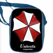Umbrella Corporation Resident Evil Mini Messenger Bags Women Men Anime Animal Galaxy Travel Shoulder Bag Boys Girls Gift Bolsa(China)