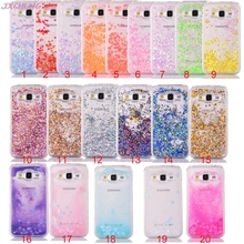 Sparkle Quicksand Diamond Glitter Stars Flowing Liquid Plastic Cover Phone Case For Samsung Galaxy Core Prime G360 G3608 G360H